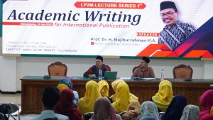 """Lecture Series 1st """"Academic Writing For Internasional Publication"""""""